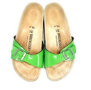 Birkenstock Patent Leather-Look Slides
